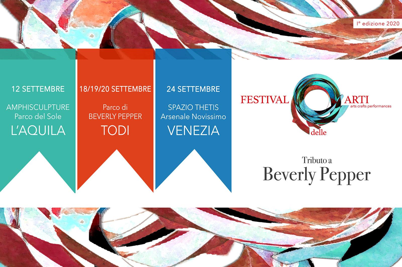 Festival delle arti 2020